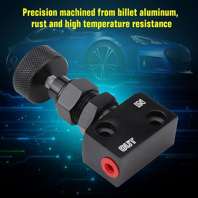 Proportioning Valve Screw-type Aluminum Brake Proportion Valve Adjustable Prop Brake Bias Adjuster for Racing Car