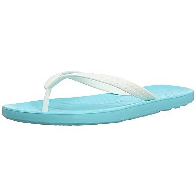 crocs ChawaiiFlip Whi/Pool M4/W6 - Sandalias de goma para mujer