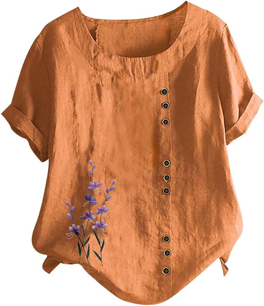 Womens Chiffon Blouse Casual Loose Ladies Summer OL Shirts Tops Tee Size 10-24