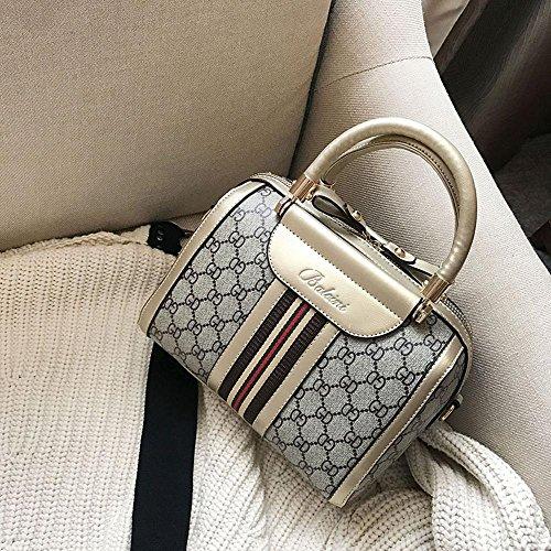 Aoligei Haute qualité pu peau oreiller lady bag handbag can est une épaule Europe et l'écoulement du vent États-Unis Retro B