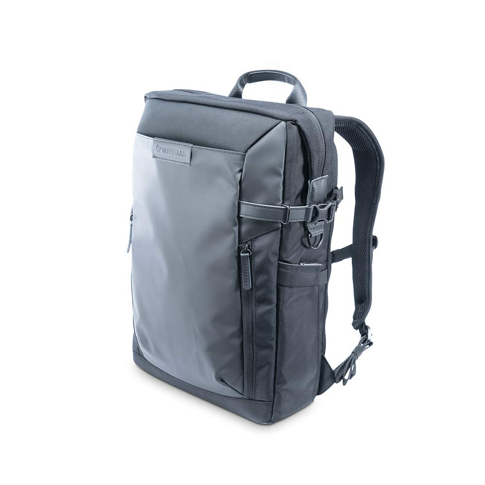 Vanguard VEO SELECT45M BK Backpack/Shoulder Bag for DSLR Camera, Video Gear or Drone, Black