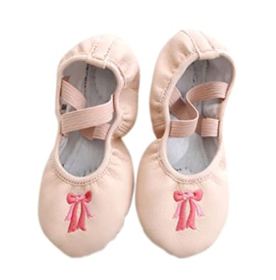 5a38d0094c615 Amazon.com | PANDA SUPERSTORE Dance Class Ballet Shoes/PU Dance ...
