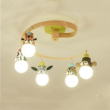 NAUY- Lámpara de techo de la habitación de los niños ...
