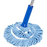 MR. SIGA Microfiber Twist Mop, 131cm (51.5'') Length