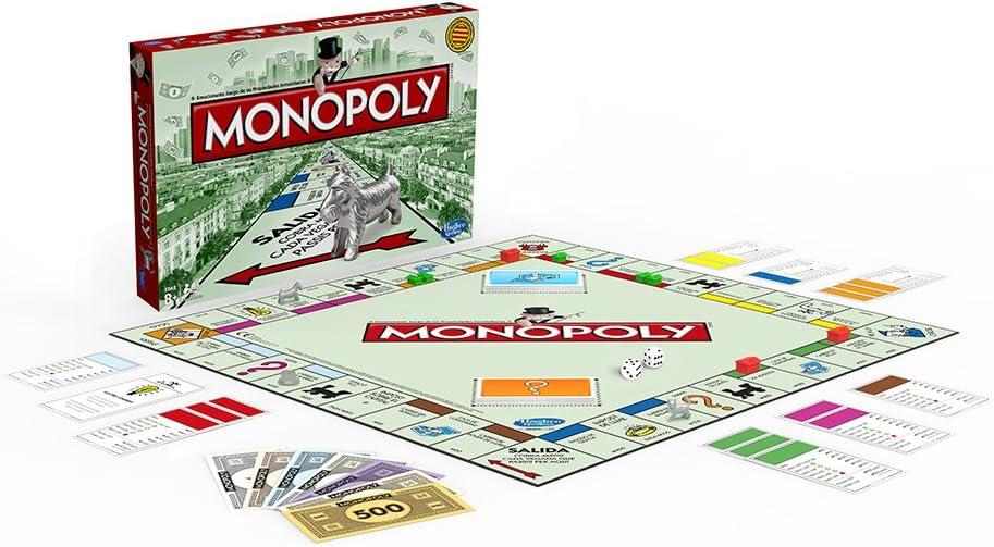 Hasbro Gaming - Monopoly clásico, Juego de Mesa (00009456 ...