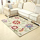 HOMEE European - style chinese - style modern simple imitation wool texture carpet living room with coffee bed carpet