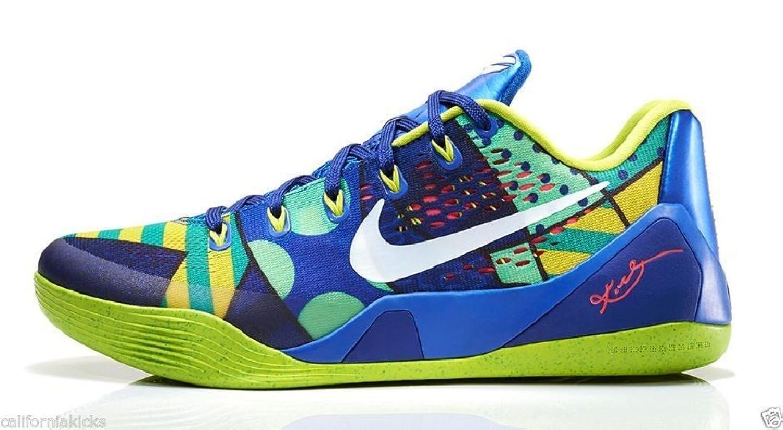 Free Shipping 6070 OFF Nike Kobe 9 EM Brazil Game RoyalWhiteVenom Green For Sale 7kPa6