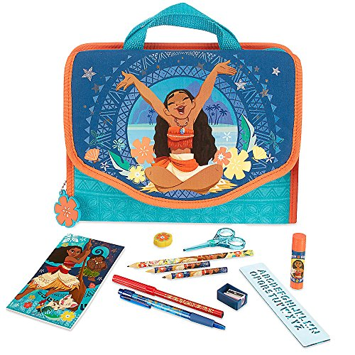 Disney Moana Stationary Zip Kit (Office Supplies Maui)