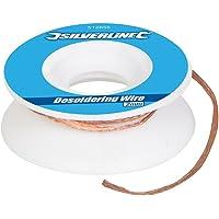 Silverline 512655 - Malla para desoldadura (2 mm)