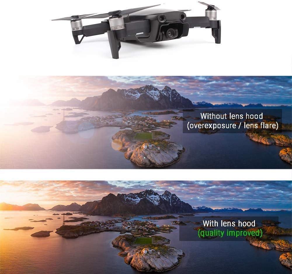 CHUN-Accessory Top Deals Lens Hood Sun Shade Accessories Camera Gimbal Cover Protector Guard Cap Lock for DJI Mavic Air