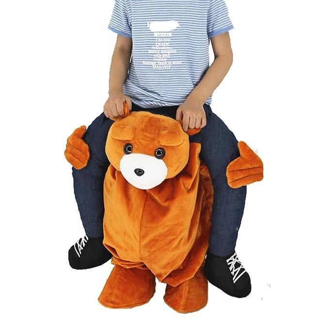 Amazon.com: SAOMAI - Disfraz de oso de peluche para niños ...