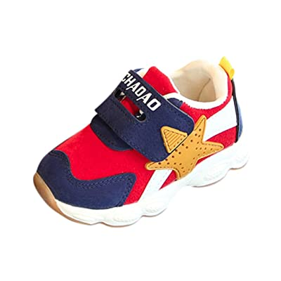 Sunbona Baby Boy's Girl's Mesh Light Weight Breathable Sneakers Casual Toddler Sports Running Shoe