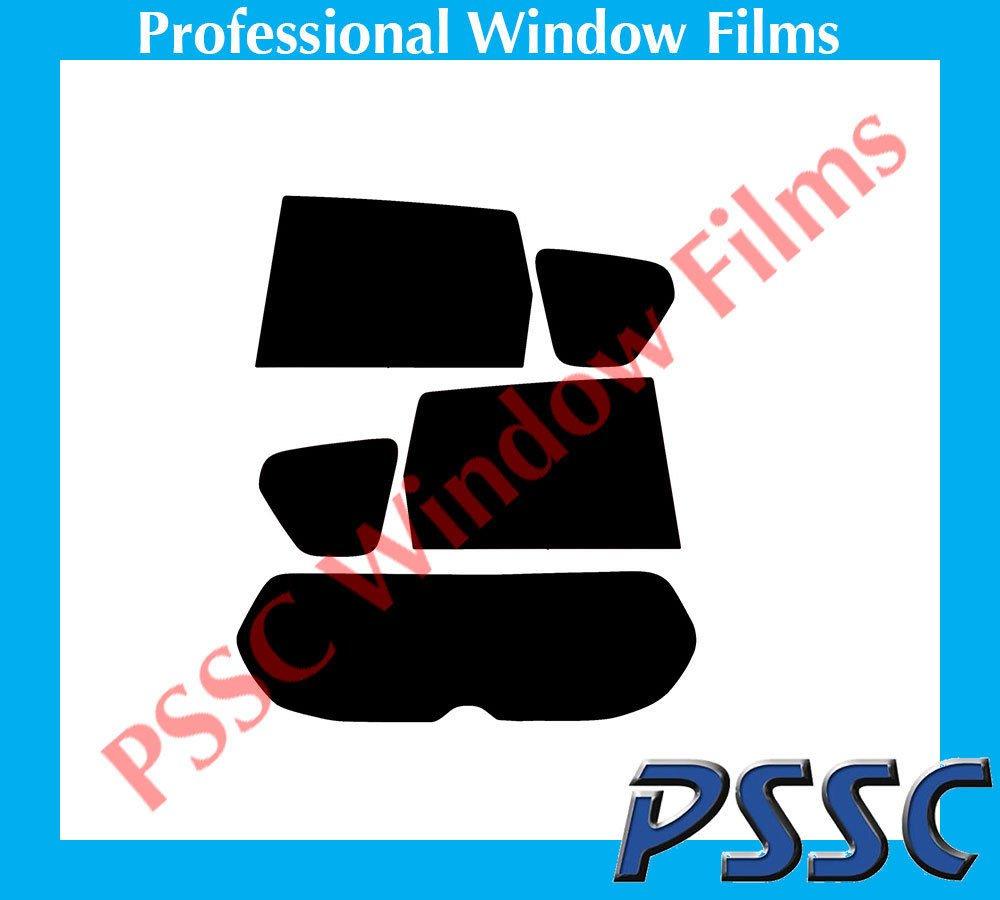 Mitsubishi Outlander 2007 to 2016 05/% Very Dark Limo Tint PSSC Pre Cut Rear Car Window Films