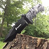 New 8. 5'' USMC USA MARINES Tactical Rescue SERRATED Folding Pocket Eco'Gift LIMITED EDITION Knife with Sharp Blade Army Bowie