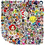 Waterproof Stickers Pack(400 Pcs) for Laptop - Luggage - Car - Motorcycle - Bicycle - No-Duplicate - Random