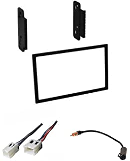 asc car stereo install dash kit, wire harness, and antenna adapter for  installing a