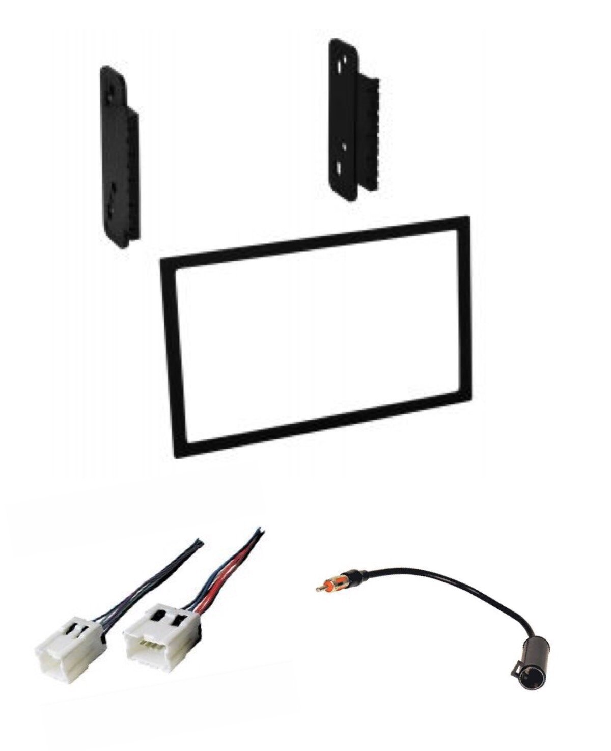 Asc Audio Car Stereo Wire Harness And Antenna Adapter To Aftermarket Gm Wiring Harnesses Install Dash Kit For Installing A