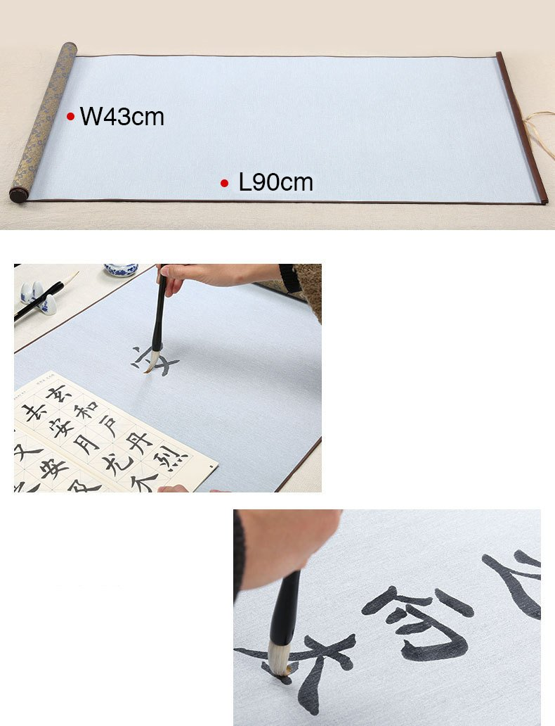 Chinese calligraphy set | Water writing cloth | Calligraphy painting | Practicing set (6 items)