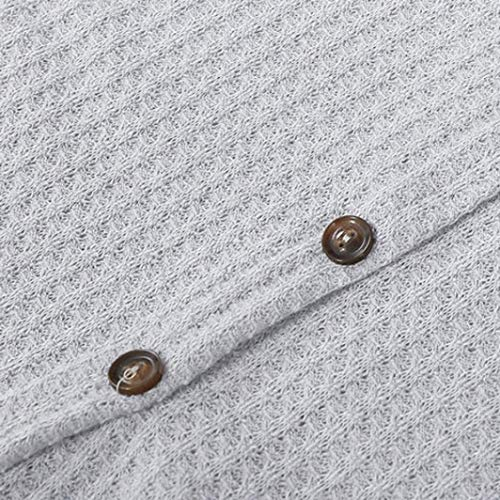 Femme Top Loose Bat Henley Tunique Wing Noeud Blouse Chemisier Femme Womens Gris Blanc Shirts Grande Tops Cravate Taille Plain Tricot rOnZ1rx8W