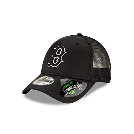 b7dd28137 Amazon.com : New Era Boston Red Sox Repreve Recycled Fabric 9FORTY ...