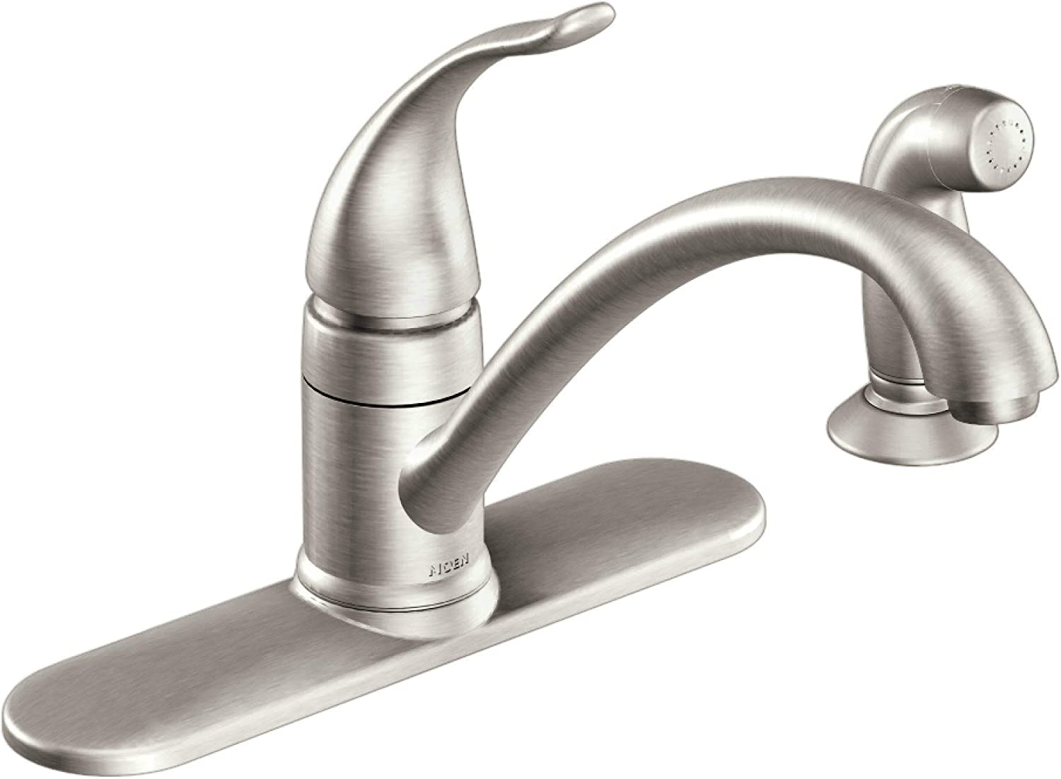 Moen CA87480SRS Kitchen Faucet with Side Spray from the Torrance Collection, Spot Resist Stainless
