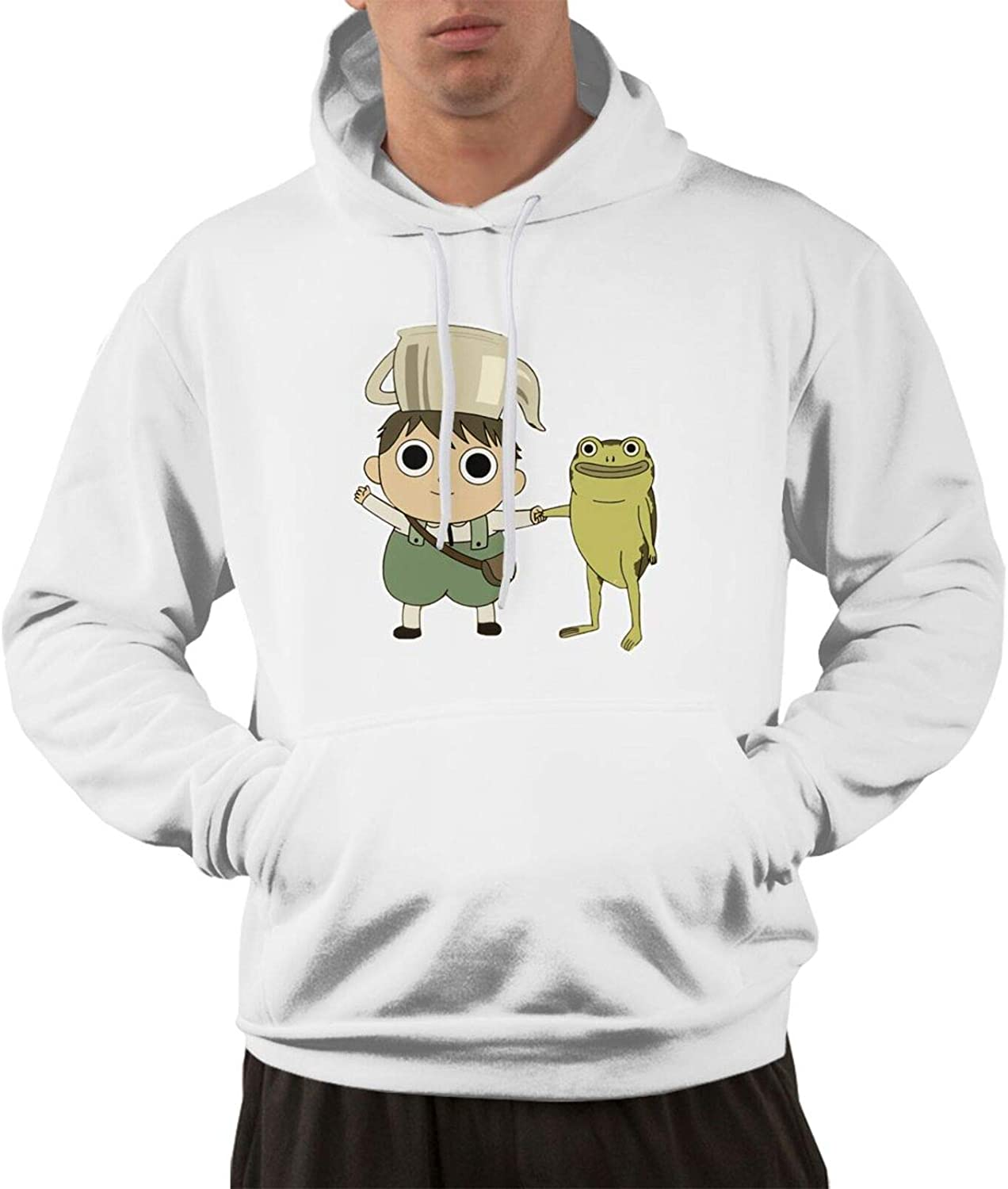 Wehoiweh Over The Garden Wall Men's Funny Hoodie Sweatershirt Hooded White