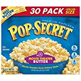 Pop Secret Popcorn, Movie Theater Butter,3 oz, 30 Count