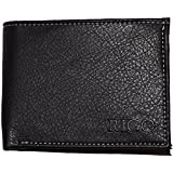 RIGO Mens Black Wallet