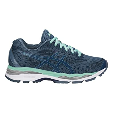 ASICS Women's Gel-Ziruss Smoke Blue/Smoke Blue/Opal Green 5: Amazon ...