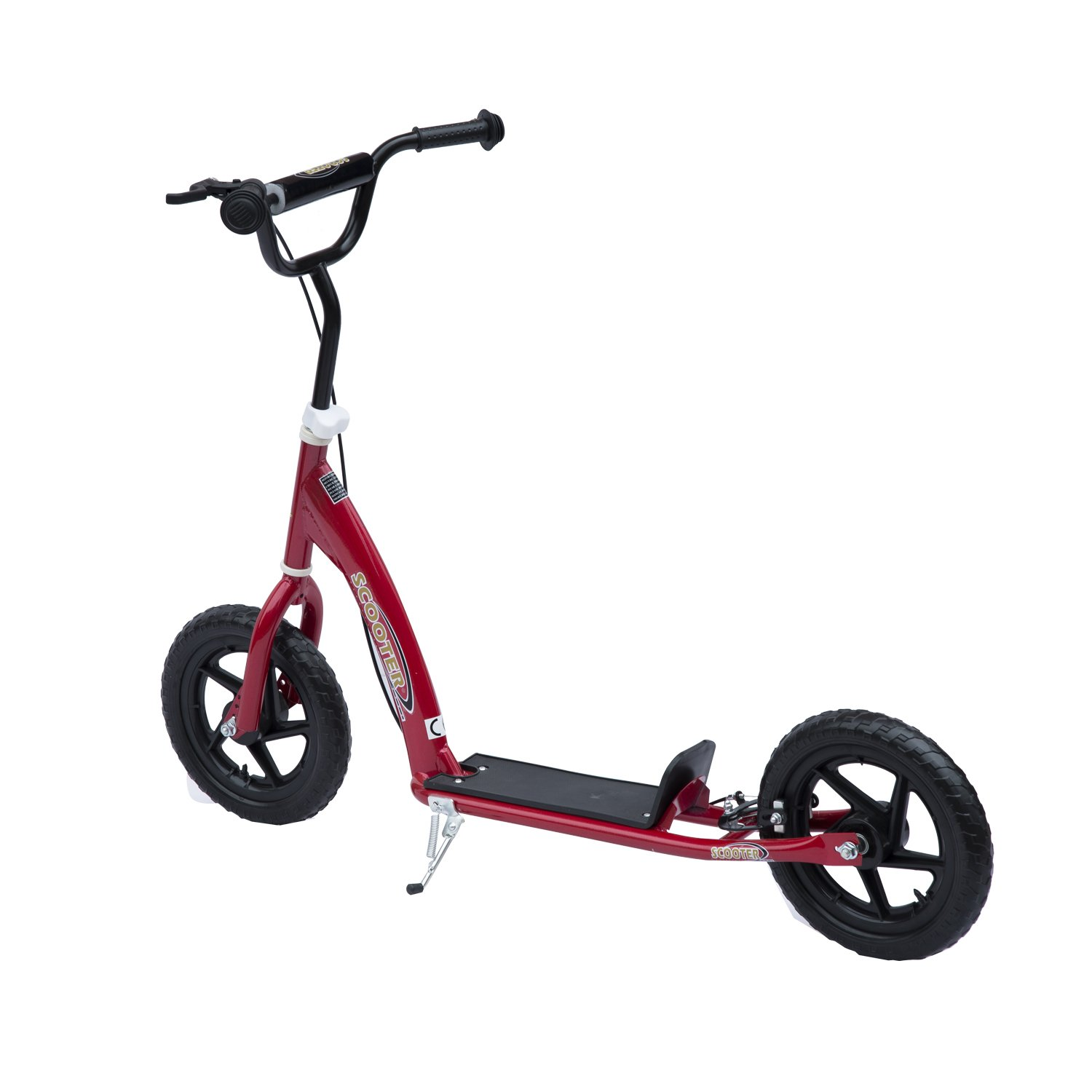 """Qaba Adjustable Kids Pro Stunt Scooter Children Street Bike Bicycle Ride On with 12/"""" Tire"""