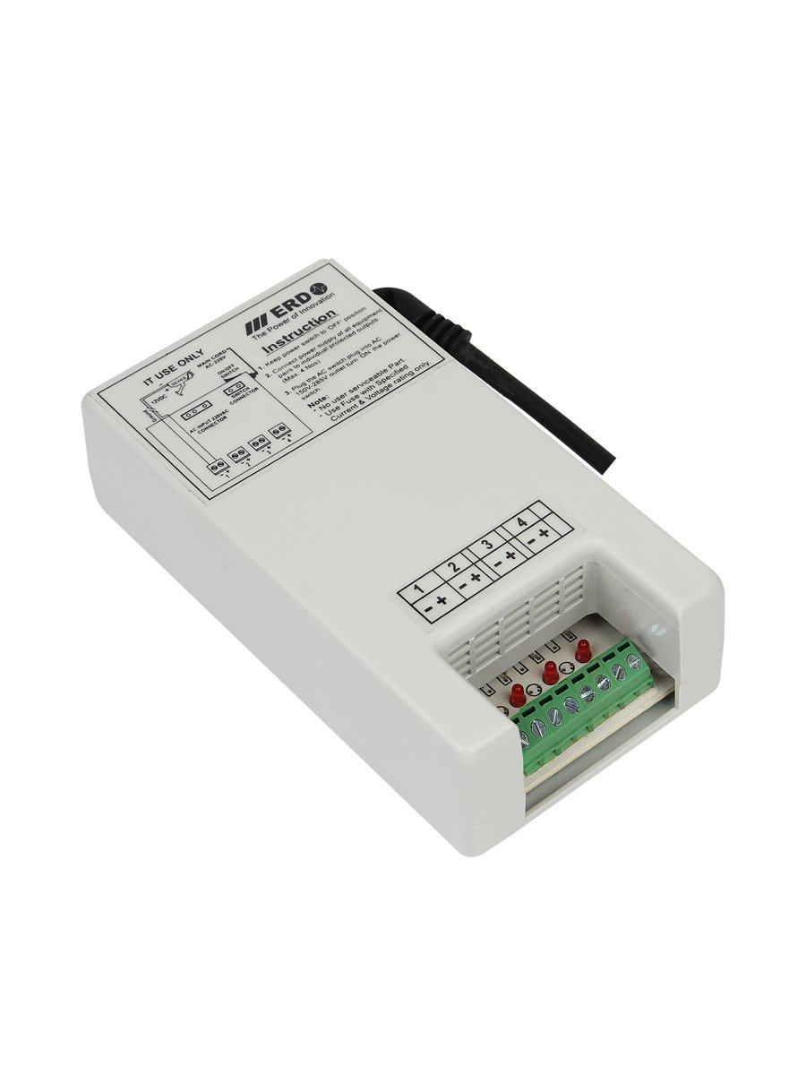 ERD LP-104 4 Channel SMPS Power Adapter Supply For CCTV: Amazon.in ...