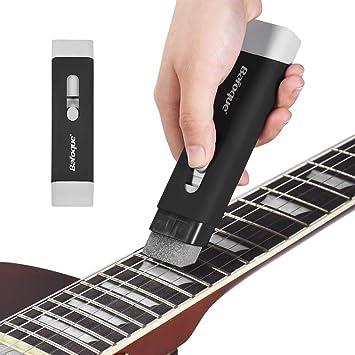 YGQersh Kit de mantenimiento de herramientas de limpieza de cuerdas de guitarra para bajo de guitarra eléctrica acústica - Negro: Amazon.es: Instrumentos ...