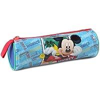 Atosa-33235 Disney Estuche Niño Mickey de Tubo Color