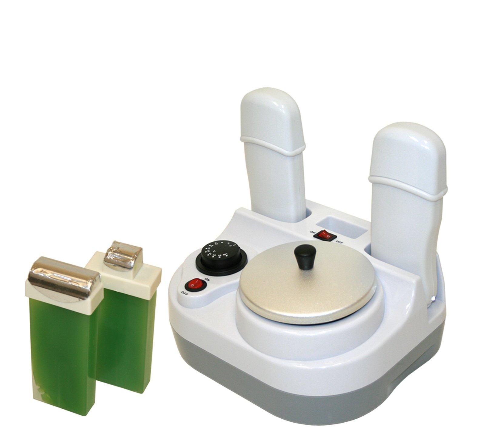 LCL Beauty Professional 2-in-1 (Pot & Double Cartridge) Wax Heater