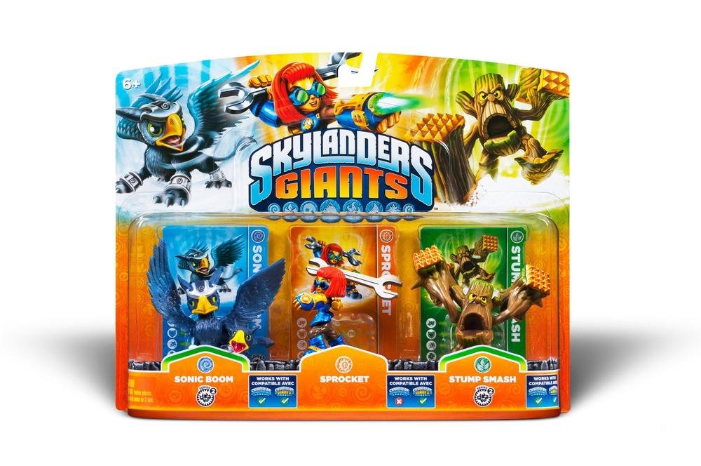 figurines skylanders giants sonic boom sprocket stump smash amazonfr jeux vido - Tous Les Skylanders