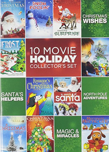 10 Film Kid's Holiday Collector Set (Christmas Movies On Dvd For Kids)