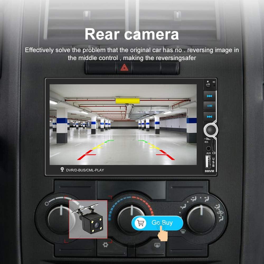 Backup Camera Remote Control Hikity Car Radio Double Din Head Unit ...
