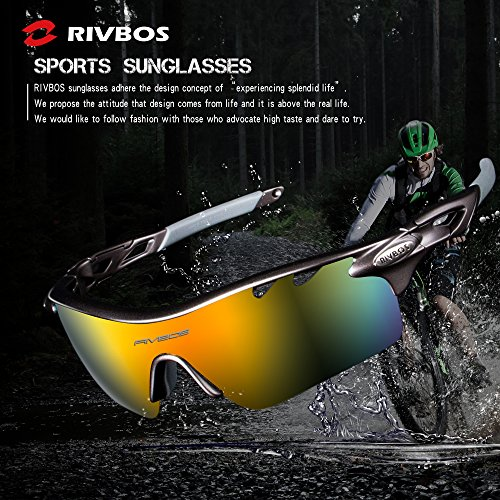 RIVBOS 801 POLARIZED Sports Sung...