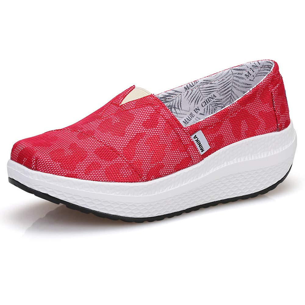 FangYOU1314 1/3 Shake Shoes B01MDPY8VT Chaussures Respirantes Low (Couleur Mesh Casual Sports Shoes (Couleur : Rouge, Taille : 39 1/3 EU) Rouge c38396b - robotanarchy.space