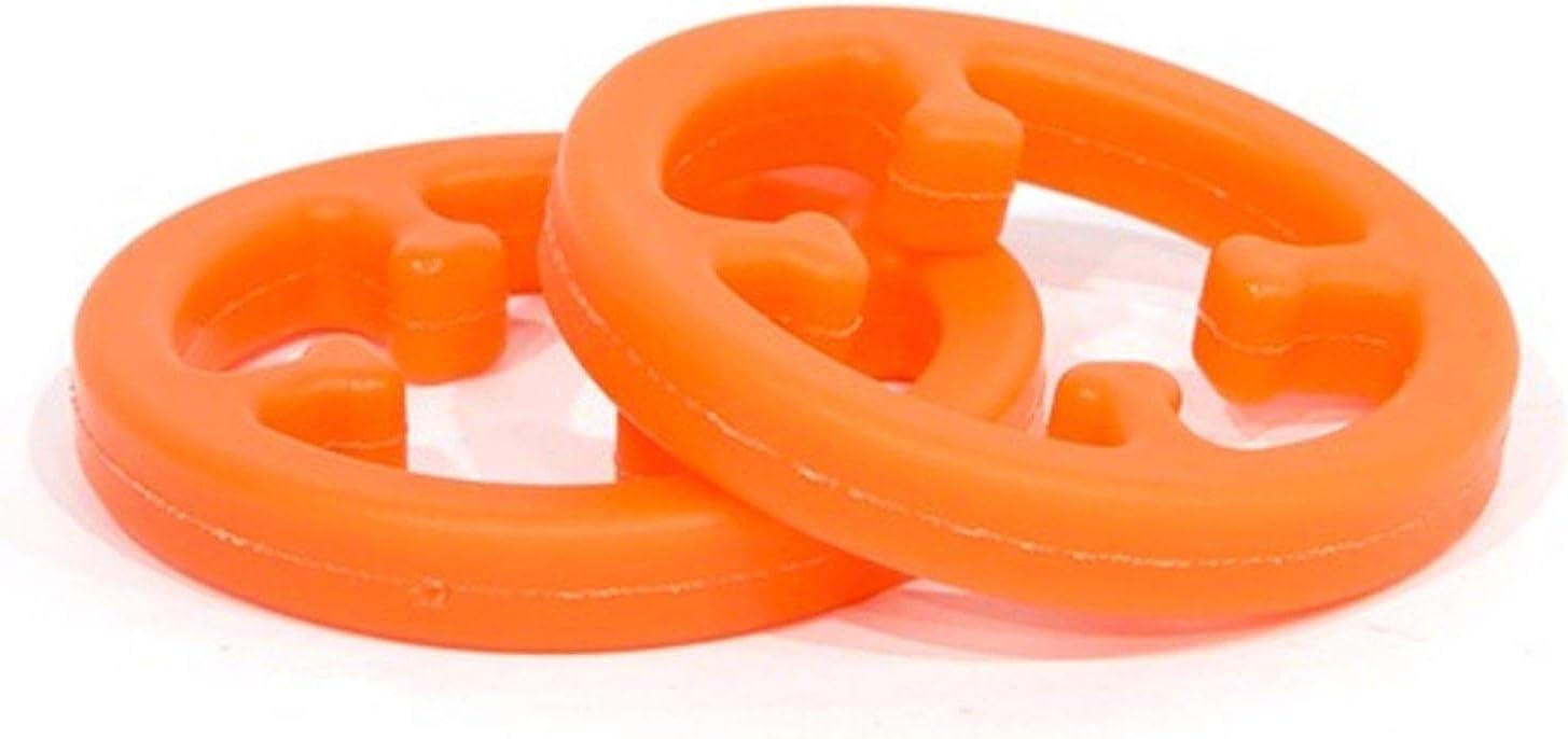 Solid Orange 2 Pack Sims LimbSaver Broadband Limb Dampener