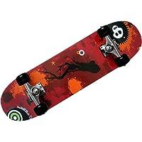 Skateboard - Atlantic Rift Design - ABEC 7 magazzino - PU sordina + ruote IN PU colori assortiti
