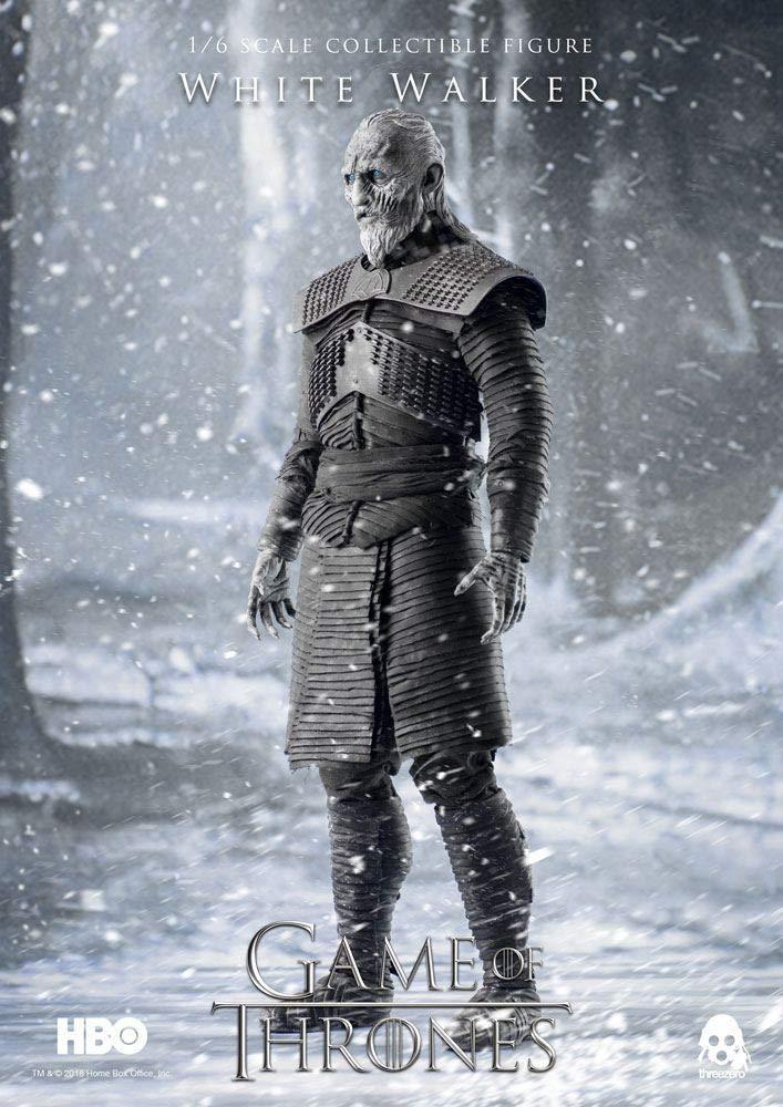 6 Scale Action Figure DCME7 JAN188780 ThreeZero Game of Thrones White Walker 1