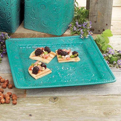 Savannah Turquoise Platter