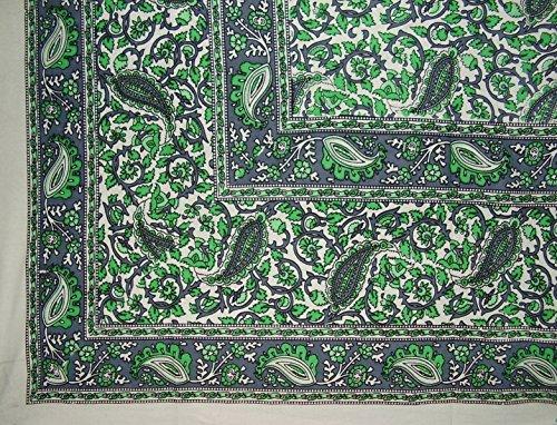 Homestead Jaipur Vine Paisley Tapestry Cotton Bedspread 106