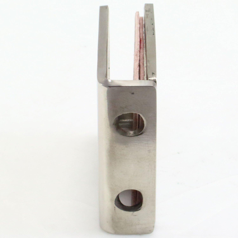 Pince /à verre Di Vapor support pour panneau de douche ou de balustrade en acier inoxydable