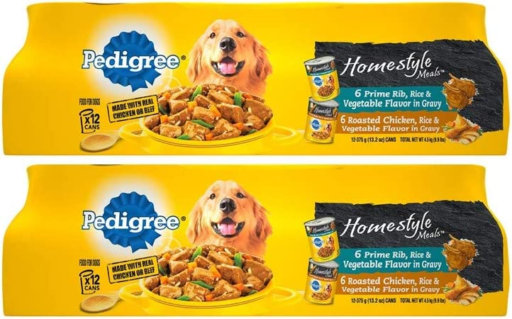 Pedigree Homestyle Meals Adult Wet Dog Food