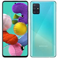 Samsung Galaxy A51 A515F 128GB DUOS GSM Unlocked Phone w/Quad Camera 48 MP + 12 MP + 5 MP + 5 MP (International Variant/US Compatible LTE) - Prism Crush Blue