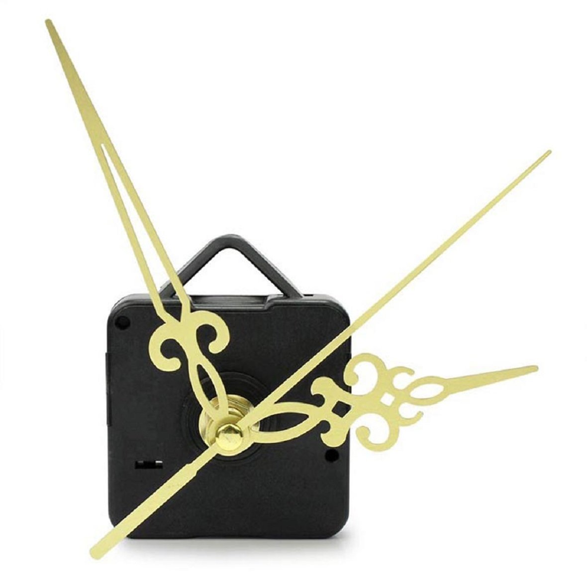 TONSEE 1PC Gold Hands DIY Quartz Wall Clock Movement Mechanism Replacement