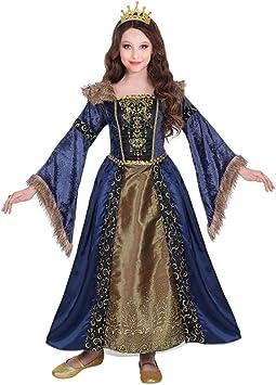 WIDMANN Srl disfraz Medieval de niña, Multicolor, wdm07136: Amazon ...