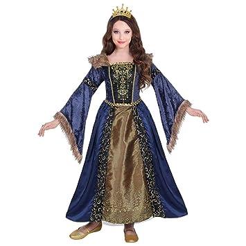 WIDMANN traje Medieval de niña, Multicolor, 07137